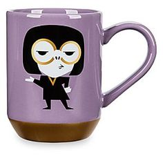 Get your morning inspiration with the oh-so-chic Edna Mode from Disney's <i>Incredibles</i>. This warm beverage mug features stylized character art and her signature quote,