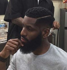 When it comes to haircuts for men, Fade haircuts bring the extra fresh &clean appeal to any look. Check out this list of trendy&hot fade haircuts for black men! Black Men Haircuts, Black Men Hairstyles, Cool Hairstyles, Weave Hairstyles, Latest Hairstyles, Hair And Beard Styles, Curly Hair Styles, Mens Hairstyles 2016, Barba Grande