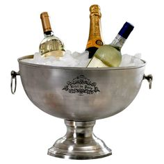 Hotel de Paris wine bucket...a little French touch for your sideboard or party!