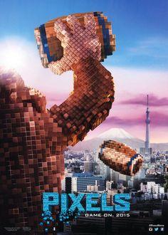 Affiche du film Pixels  -