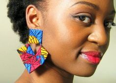 Image result for fabric earrings