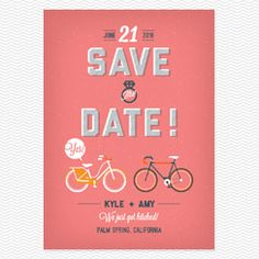 City Life Save the Date Postcards