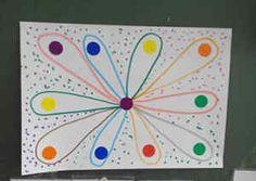 Preschool Handwork, Preschool Crafts, Painting For Kids, Drawing For Kids, Art For Kids, Preschool Writing, Kindergarten Activities, Motor Activities, Toddler Activities