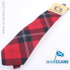 Ramsay Modern Tartan Tie. Free Worldwide Shipping Available