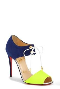 Christian Louboutin Toe Up Leather Sandal Multicolor Pumps. Get the must-have pumps of this season! These Christian Louboutin Toe Up Leather Sandal Multicolor Pumps are a top 10 member favorite on Tradesy. Save on yours before they're sold out!
