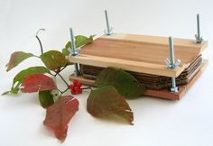 FREE US SHIPPING Leaf or Flower Press 8.5x5.5 made of by Matelia
