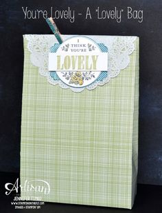 Jen Timko - You're Lovely - A Lovely Bag with Tutorial