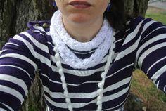 Easy Textured Crochet Bobble Scarves
