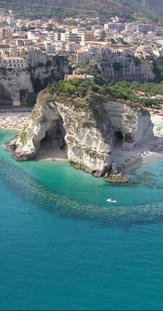 Tropea, Calabria, Italy. Love this view!