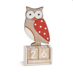 μπομπονιέρες ξύλινο ημερολόγιο κουκουβάγια 6x3x12,6εκ-nifika l'amour