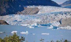 #MendenhallGlacier, 12 miles from #Juneau #Alaska
