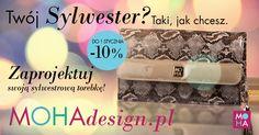 Przygotuj się na Sylwestra już dziś! Zaprojektuj swoją sylwestrową torebkę!  - 10% na wszystkie torebki, aż do 1 stycznia!  Miłego projektowania! :)