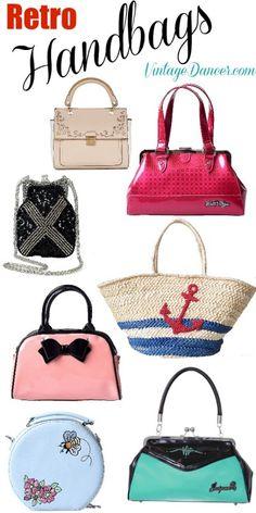 4fa9eb462e05 Shop retro vintage fun handbags and purses at Vintagedancer com Vintage  Purses