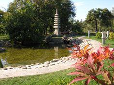 Парк Киото - это кусочек Японии в городе Киев