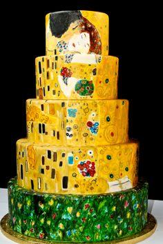 Klimt Cake -