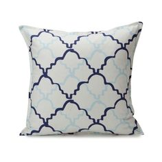 """I pinned this Taj 18"""" Pillow in Pool from the Christen Maxwell event at Joss & Main!"""