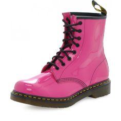 Dr. Martens, Combat Boots, Hot Pink, Shoes, Fashion, Zapatos, Moda, Shoes Outlet, La Mode