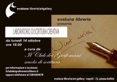 2013 10 14  LABORATORIO SCRITTURA CREATIVA  IL CLUB DEI GRAFOMANI