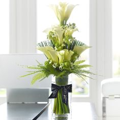 Luxury Calla Lily Vase.