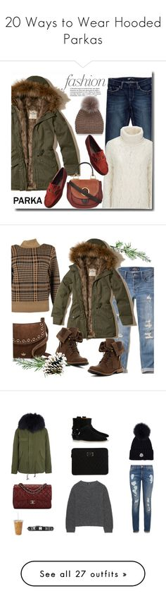"""20 Ways to Wear Hooded Parkas"" by polyvore-editorial ❤ liked on Polyvore featuring waystowear, hoodedparkas, Hollister Co., Levi's, Woolrich, MICHAEL Michael Kors, Gucci, Simons, Dries Van Noten and Kate Spade"
