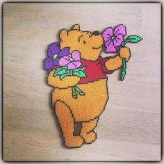 Winnie the Pooh hama mini beads by lone_joel_laursen