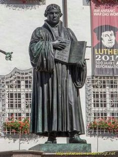 WITTENBERG-GERMANY MARTIN LUTHER STATUES - UNESCO WORLD HERİTAGE LİST