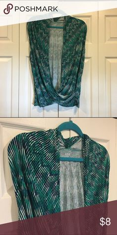 Ana top Cute detailed Ana tank. Great condition. 100% rayon. a.n.a Tops Tank Tops