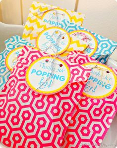 Ready to Pop Baby Shower from All Things Thrifty