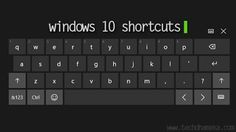 Windows is the most used operating system and if you're one of them then these are the best shortcut keys for you, to help you out at your work and to get best results at less time.