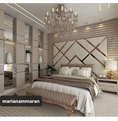 87 extraordinary and inspiring home bedroom interior design for decoration 83 Luxury Bedroom Design, Master Bedroom Design, Home Decor Bedroom, Home Interior Design, Luxury Home Decor, Diy Bedroom, Bedroom Ideas Master For Couples, Master Suite, Modern Luxury Bedroom