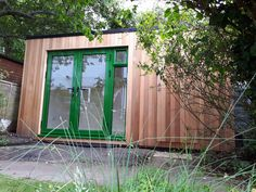 Office In My Garden is a bespoke Garden Room Company based in North London specialsing in the construction of Garden Rooms, Garden Offices and Summerhouses Garden Office, Outdoor Rooms, Tiny House, Offices, Construction, Building, Frame, Design, Home Decor
