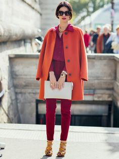 We want to copy this look from stylebop.com fashion director, Leila Yavari, ASAP!