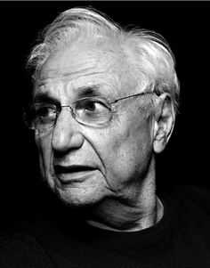 Frank Gehry- His buildings are like crazy art! Awesome!