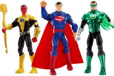 FIRST WAVE OF DC TOTAL HEROES ACTION FIGURES COMING IN 2014