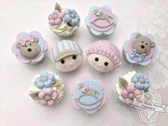 Babyface cupcakes