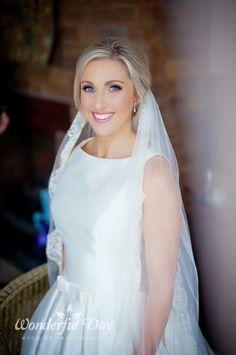 Bridal makeup  www.glamourbydawn.com Bridal Makeup, One Shoulder Wedding Dress, Glamour, Wedding Dresses, Dawn, Fashion, Alon Livne Wedding Dresses, Fashion Styles, Weeding Dresses