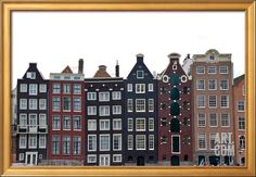 Damrak, Amsterdam, the Netherlands Photographic Print at Art.com