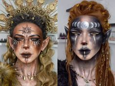 Halloween makeup ideas #halloween #makeupideas #halloweenmakeupideas Tribal Makeup, Edgy Makeup, Male Makeup, Fx Makeup, Crazy Makeup, Crazy Halloween Costumes, Halloween Makeup Looks, Halloween Fun, Halloween Decorations