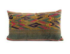 Vintage Laos Skirt Pillow No. 1