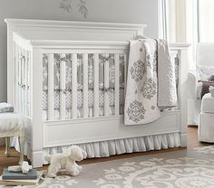 Larkin Fixed Gate 4-in-1 Crib #pbkids