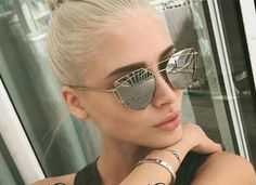 https://pinkpartyproject.myshopify.com/collections/sunglasses/products/twin-beam-cat-eye-sunglasses Twin~Beam Cat Eye Style. Inspired By Italian Vintage Design, This Is The Coolest Look Of 2017. Stand Out From The Crowd With These Carefully Crafted And Quality Designed Twin-Beam Sunglasses. Extremely Stylish, These Sunglasses Are Lightweight And Have Been Designed To Ensure Extreme Comfort.