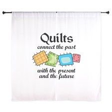 Shop QUILTS CONNECT Curtains designed by Great-Notions. Quilted Curtains, Curtain Designs, Connection, The Past, Quilts, Quilt Sets, Quilt, Log Cabin Quilts, Lap Quilts