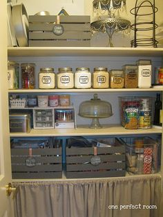 Labels, crates, organization!