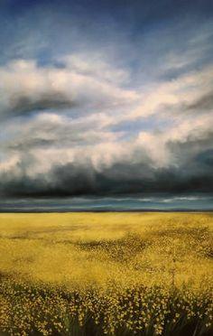 "Richard Cole CANOLA 15037 / Canada House Gallery - oil, canvas 84"" x 54"""