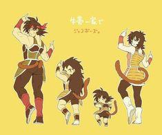 Bardock, Kid Raditz, Baby Goku, and Gine Dragon Ball Gt, Dragon Ball Z Shirt, Chrono Trigger, Goten E Trunks, Akira, Goku Y Vegeta, Manhwa, Manga Anime, Manga Games
