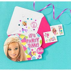 Check out the Barbie Invitation Kit (PC00044) at the official Barbie website. Explore all Barbie dolls and accessories now!