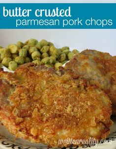Here's a wonderful recipe for Butter Crusted Parmesan Pork Chops. You would never know that they're baked and not fried!