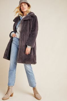 Remsen Faux Fur Coat