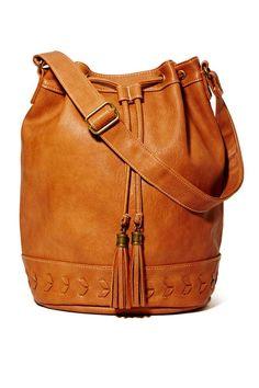 Julianna Leather Bucket Bag