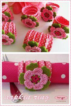 bags'n style: DIY serviettenring - DIY napkin ring